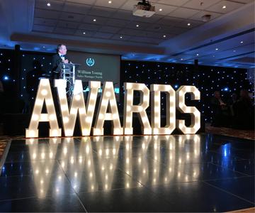 Scenic awards night