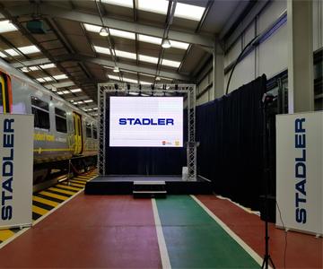 Merseyrail / Stadler rail depot launch